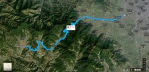 Kalanki-Thankot-Chandragiri-Chitlang-Toukhel-Bajrabarahi